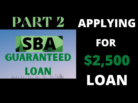 applying-sba-guaranteed-loan-$2,500-for-gaming-live-stream-(part-2)