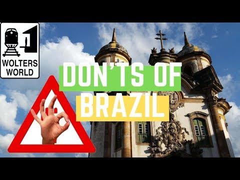 Brazil: The Don'ts