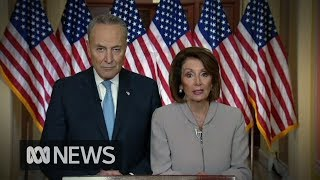 Democrat leaders respond to President Trump's address on Government shudown | ABC News