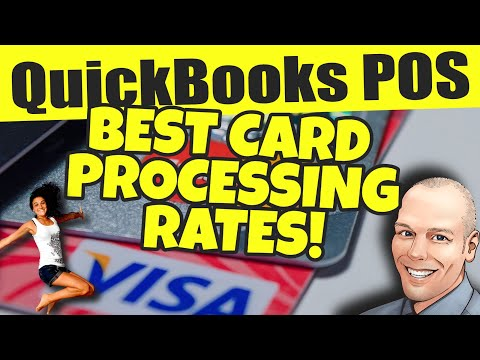 Best QuickBooks POS Payment Processing Rates! Save Every Month on Credit Card Processing!
