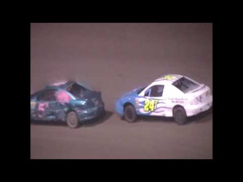 Eagle Raceway Sport Compact A Feature on 7-1-2017