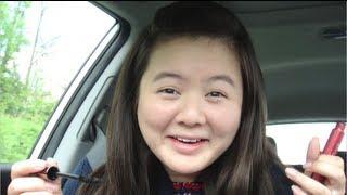 Makeup In the Car Challenge! - OkieDokersTV Thumbnail