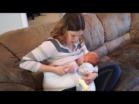 How To Use Hand Pump | How To Pump Learn & Breast Milk Pumping Breastfeeding Technics