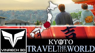 KYOTO in japan - TRAVEL THE WORLD serie by VINRECH 3D