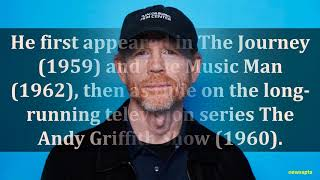 BIOGRAPHY OF RON HOWARD