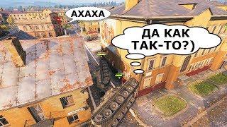 ПРИКОЛЬНЫЕ моменты из World of Tanks, Мувики и КВ-2 #88