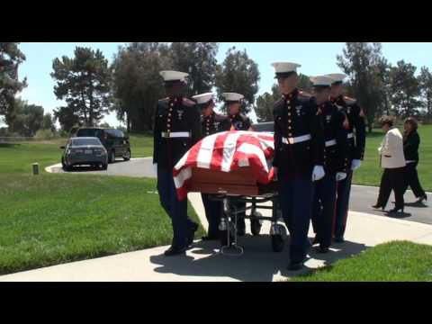 MARINE GOING HOME LAST TIME