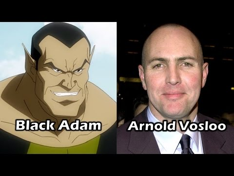 Characters and Voice Actors - DC Showcase: Superman/Shazam!: Return of Black Adam streaming vf