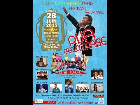 Teaser SOLIKA TOUR FARANY - Paris 28 juin 2015