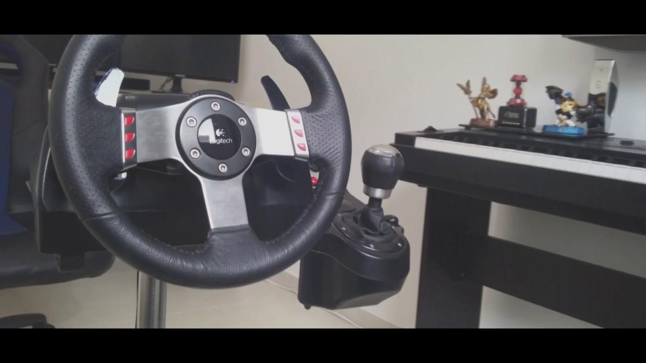 5efcda759a3 Wheel Stand Pro Logitech G27 - YouTube