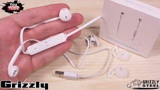 Bluetooth наушники для 7ки ))Беспроводные наушники/Headphones Bluetooth aliexpress overview