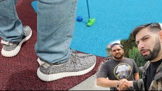 INTENSE MINI GOLF FOR SNEAKERS!!