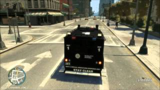 GTA IV LCPD:FR SWAT shootouts