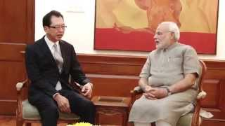 Chairman, Honda Motor Corporation, calls on PM