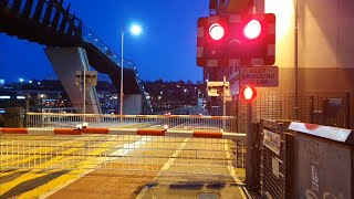 *Night Mode Alarms* Lincoln (Brayford) Level Crossing, Lincolnshire