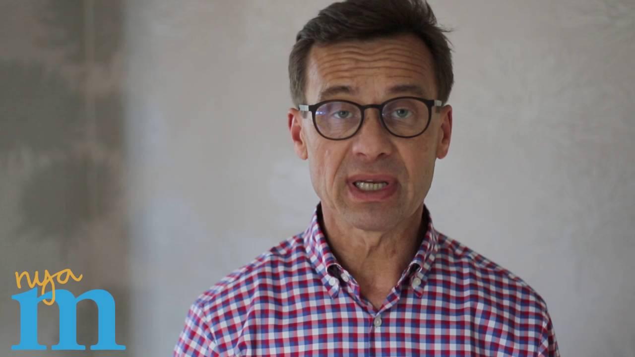 Ulf Kristersson om bidragstaket - YouTube