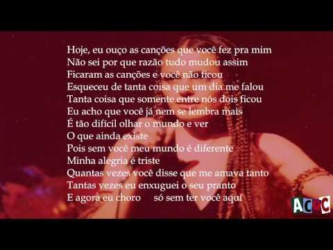 As Canções que você fez pra mim - Roberto Carlos