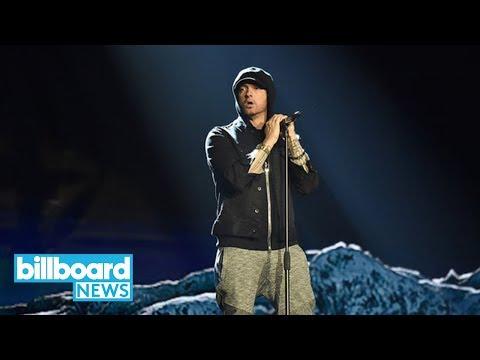 Eminem Unveils Star-Studded Track-List for 'Revival,' Enlists Beyonce, Ed Sheeran | Billboard News