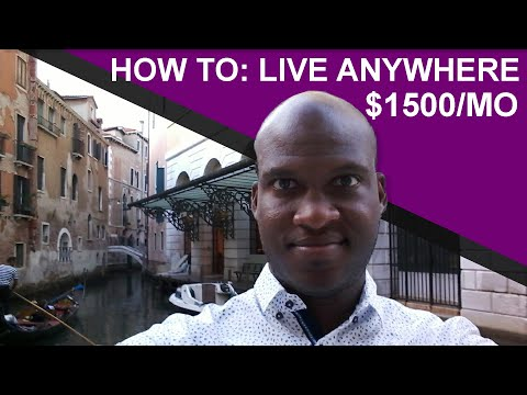How To Live Global For As Low As $1500 A Month | Leaving The USA
