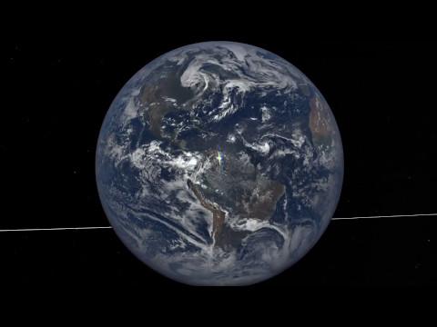 Un satélite de la NASA registró más de 800 destellos procedentes de la Tierra