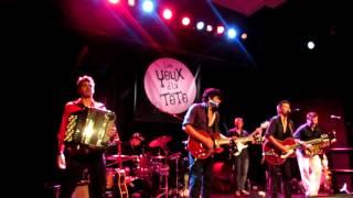 """Les yeux d'la tete """"Profitons-en""""  live in Brotfabrik, Frankfurt am Main, 05 / 07 / 2012"""