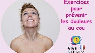 Massage au cou pour prévenir les douleurs cervicales