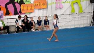 Girls Gymnastics Level 6 -1st Provincial Qualifier 9 year olds