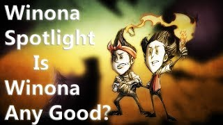 New Character Winona Spotlight - Is Winona Any Good? | Don't Starve Together