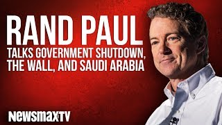 Rand Paul Talks Government Shutdown, the Wall, and Saudi Arabia