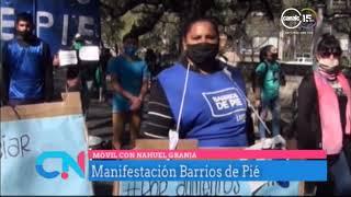 Manifestación Barrios de Pie