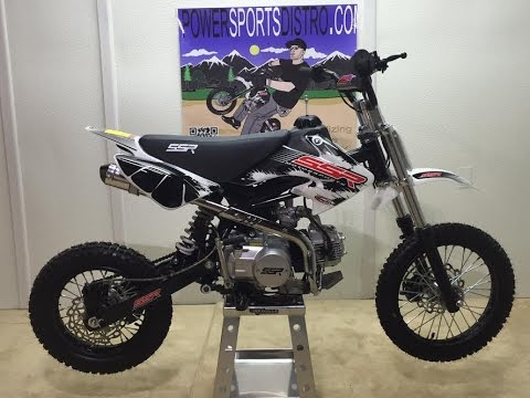 DETAILED Assembly of the SSR 125 Pit Bike / Dirt Bike by Powersports Distro