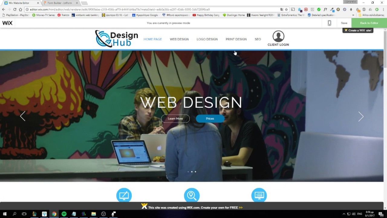 how to create a forum on wix