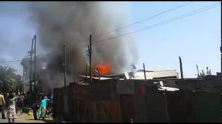 Merkato Addis Abeba Ethiopia fire broke out