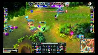 CJ Entus Blaze vs Samsung Galaxy Ozone | Game 2 Playoffs SK Telecom LTE-A LoL Masters 2014
