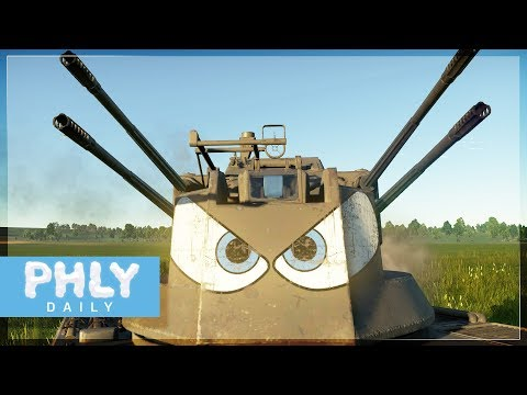 4 Automatic Meatball Launchers = EXTERMINATION  (War Thunder)