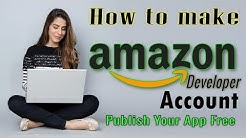 How to make Amazon developer account || Amazon console account || App publish on amazon app store