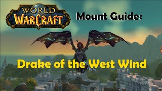 WoW Mount Guide: Drake of the West Wind