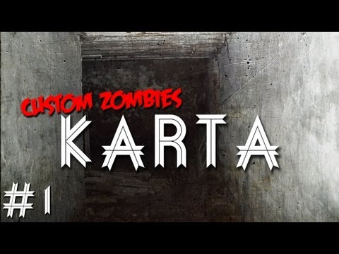 Custom Zombies - Karta: Look At The Mess You Made Here (Part 1)