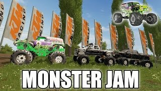 MONSTER JAM | FINAL CONSTRUCTION | MULTIPLAYER | GRAVE DIGGER!