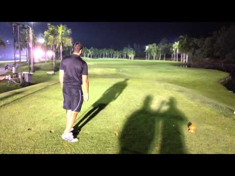 Night Golf Bangkok Thailand