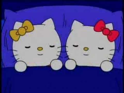 Hello Kitty sings Kitty in the Basket! - YouTube  Hello Kitty sin...