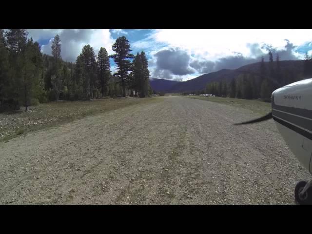 Sulphur Creek Ranch Idaho backcountry flying Labor Day 2014 (and landmark airstrip)