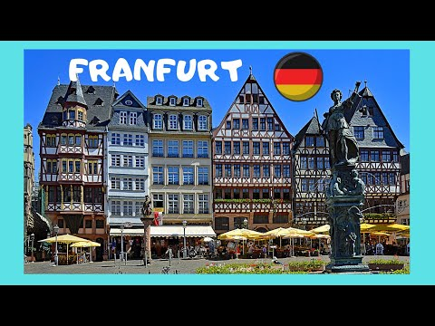 A tour of historic FRANKFURT, GERMANY