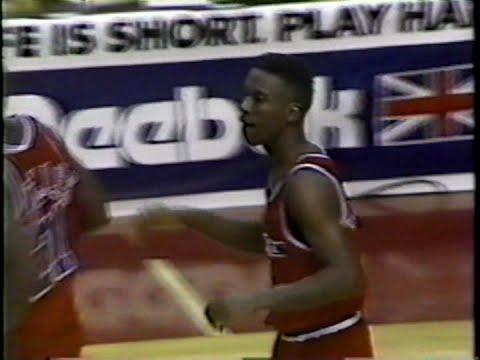 Andre Turner (10pts/8asts) vs. Celtics (1991)