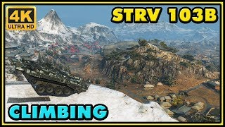Climbing Strv 103B - 8 Kills - 9,6K Damage - 1 VS 6 | World of Tanks Gameplay