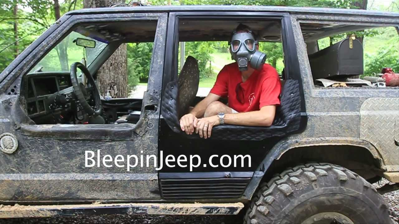 How To Make Removable Half Doors Jeep Cherokee Part 2 Youtube