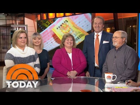 Tennessee Couple Claim Powerball Winning Jackpot | TODAY