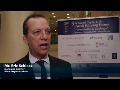2018 9th Annual Greek Shipping Forum - Eric Schless Interview