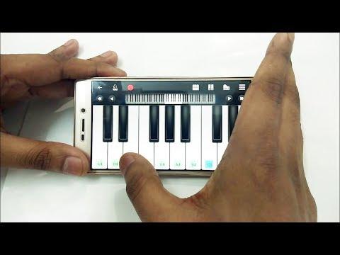 Tujhe Dekha To Yeh Jaana Sanam mobile piano | Bangla Piano tutorial