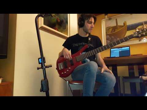 Dream Theater - Vacant, Stream of Consciousness (bass cover by Piero Licari)